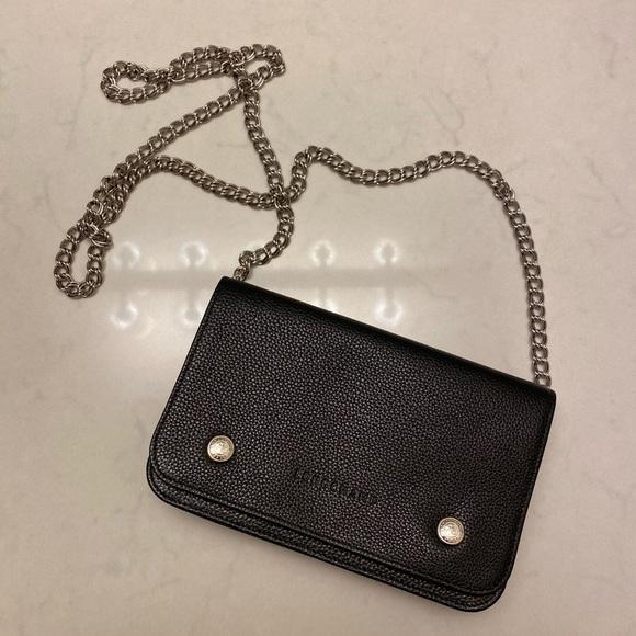 Like New Longchamp Le Foulonne Wallet on Chain